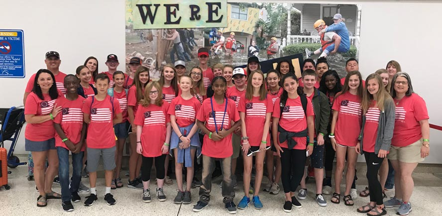 HURRICANE HARVEY STUDENTS RECEIVE SILVER LINING EDUCATIONAL TRIP TO PHILADELPHIA